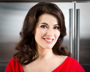 Nigella Lawson at home - PR shots and Book Cover