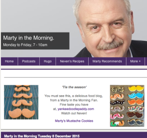 RTE Lyric Marty in the Morning Tuesday Dec 8 2015