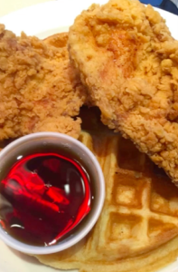 stax chicken and waffles